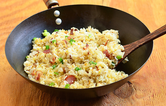Mom's Basic Fried Rice with a Dash ofTagalog