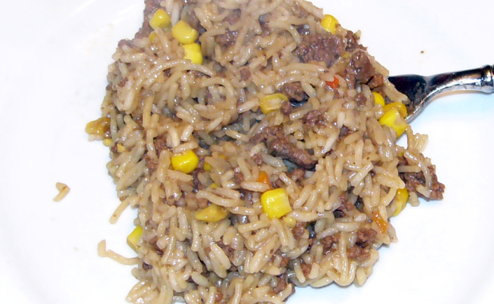 Beefy-Corn Rice-A-Roni TacoStyle