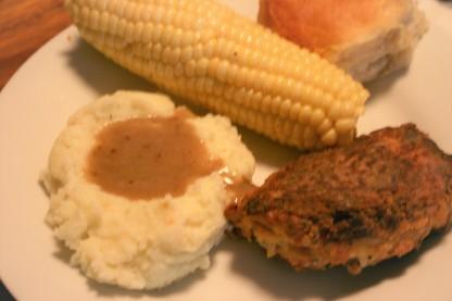 Buttermilk Pan-Fried Baked Chicken (6)