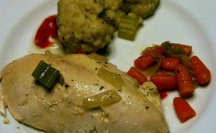 Chicken and HerbDumplings