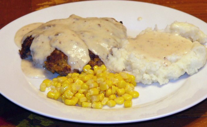 Down Home Chicken-Fried Steak with Creamy Gravy