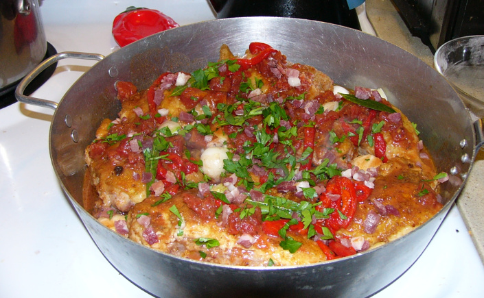 Portuguese Braised Chicken