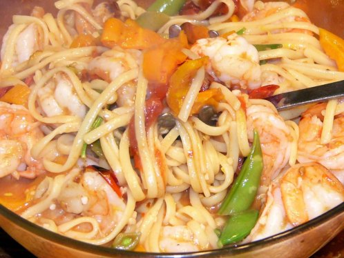 colorful-spicy-lemon-garlic-shrimp-linguine-9