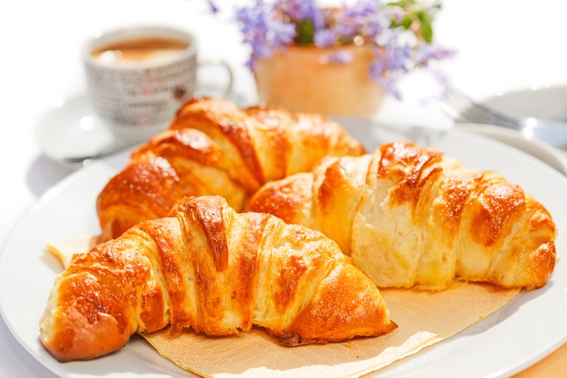 A Cheater's Guide to Buttery Croissants with a Kiss ofAlmond