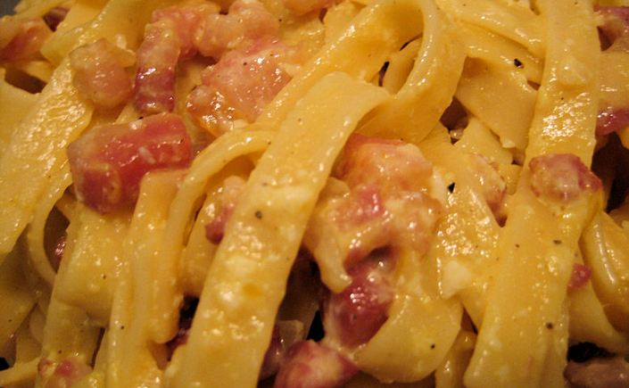Fettuccine Carbonara – An AmericanInterpretation