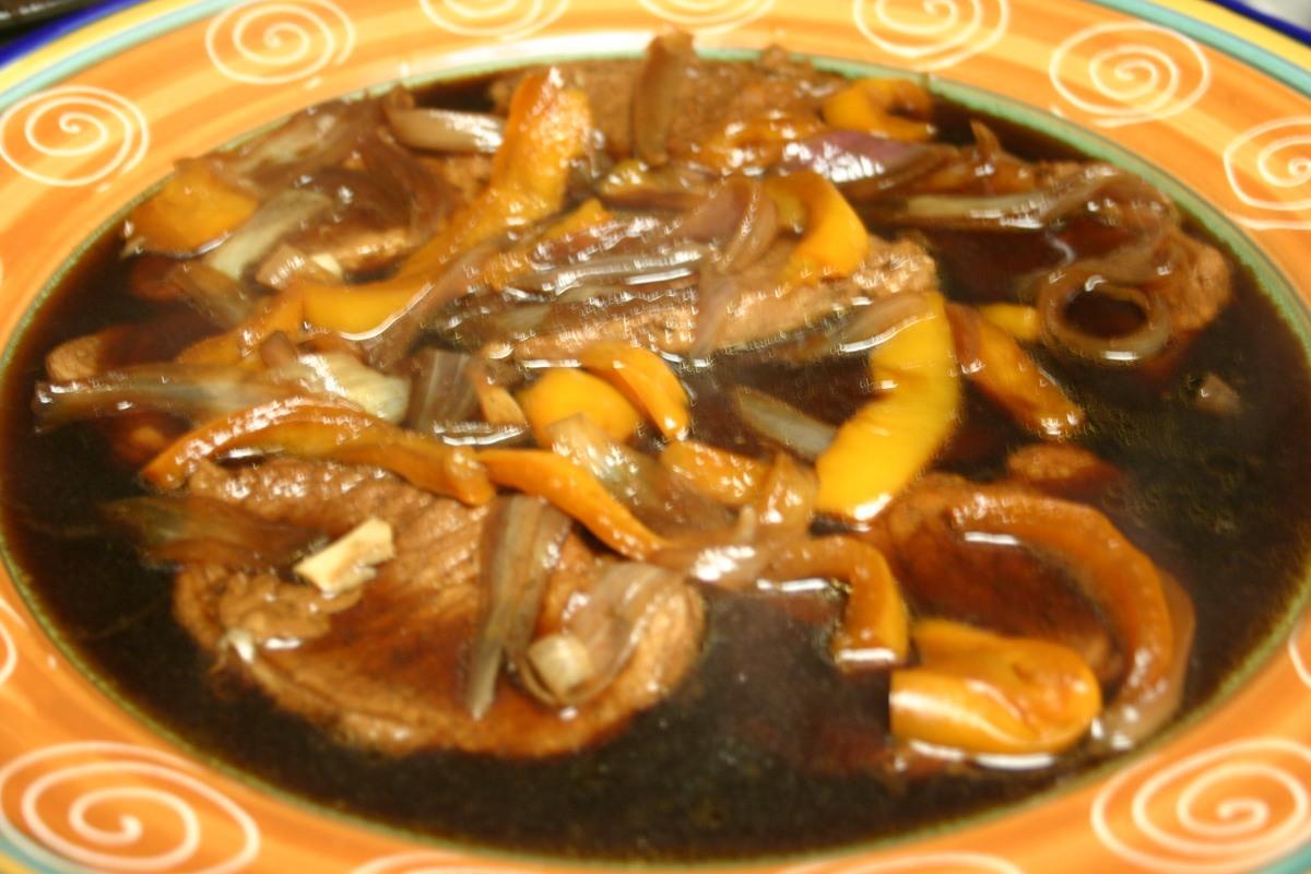 Filipino-American Pork Chops AdoboStyle