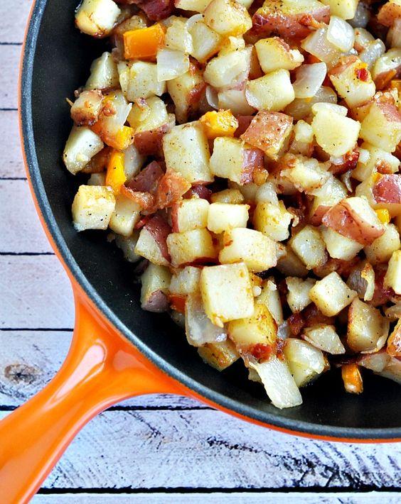 Hobo Skillet Potatoes