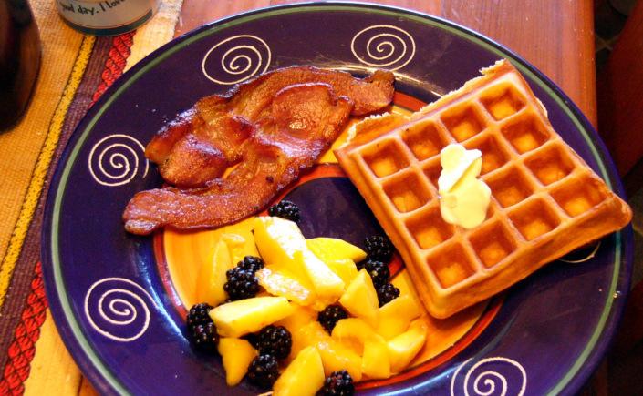 Golden Malted Waffles fromScratch