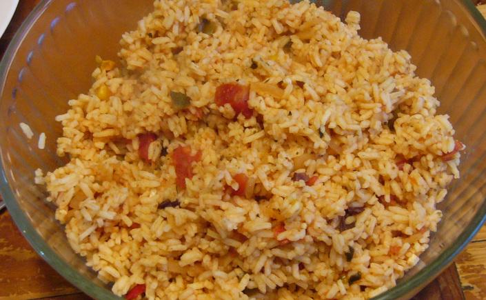 Mexican Salsa Rice