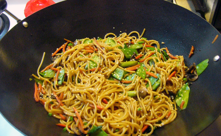 Spicy Asian Stir-FrySpaghetti