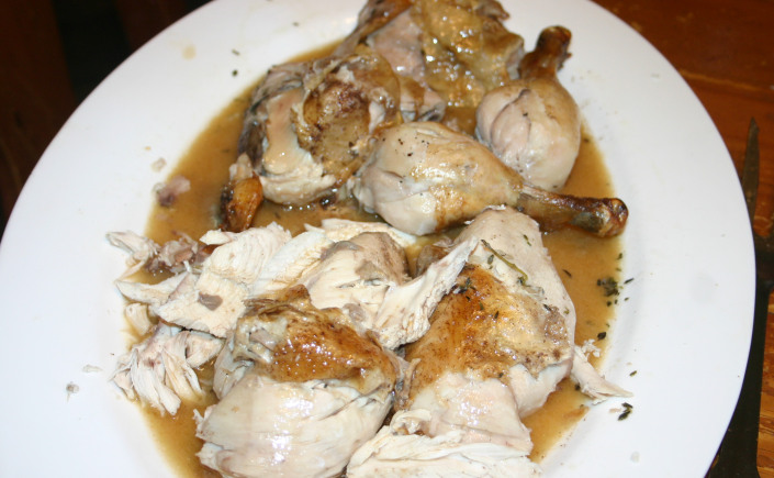 Roast Chicken with Cinnamon and Spice and Everything Nice