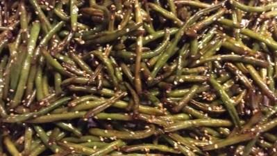 sesame soy green beans 2