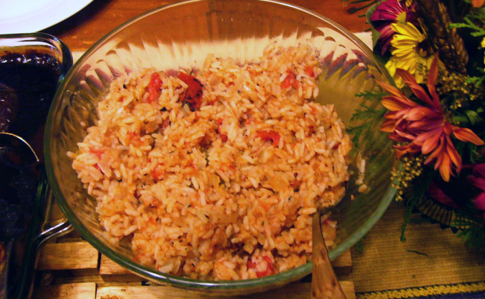Authentic Spicy Spanish Rice