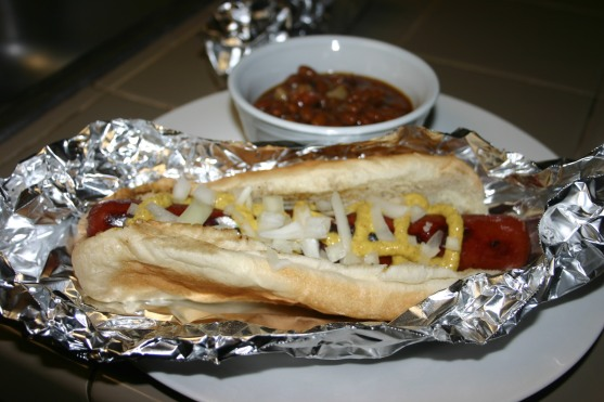 Stadium Style Hot Dogs (5)