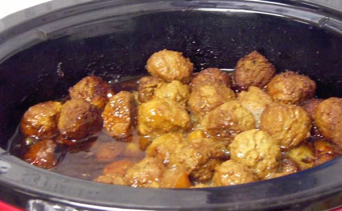 Teriyaki Meatballs – Crock PotStyle