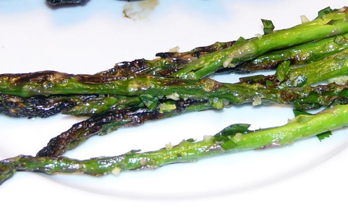 Smokey Pan SearedAsparagus