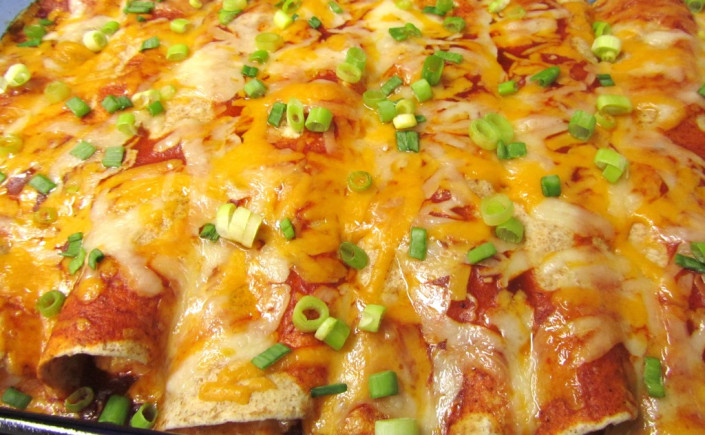 Cheese Enchiladas to Spice Up Friday Night