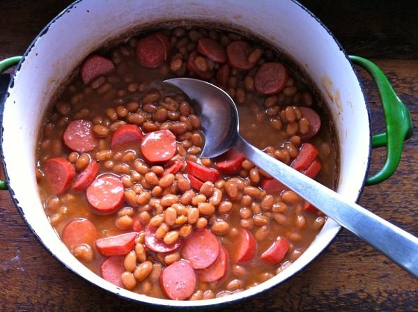 Franks and Beans and Childhood Memories