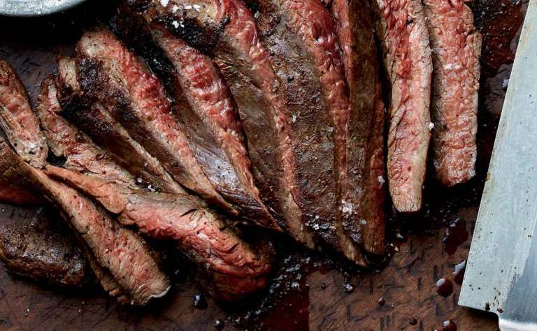 New Mexican Grilled Flank Steak