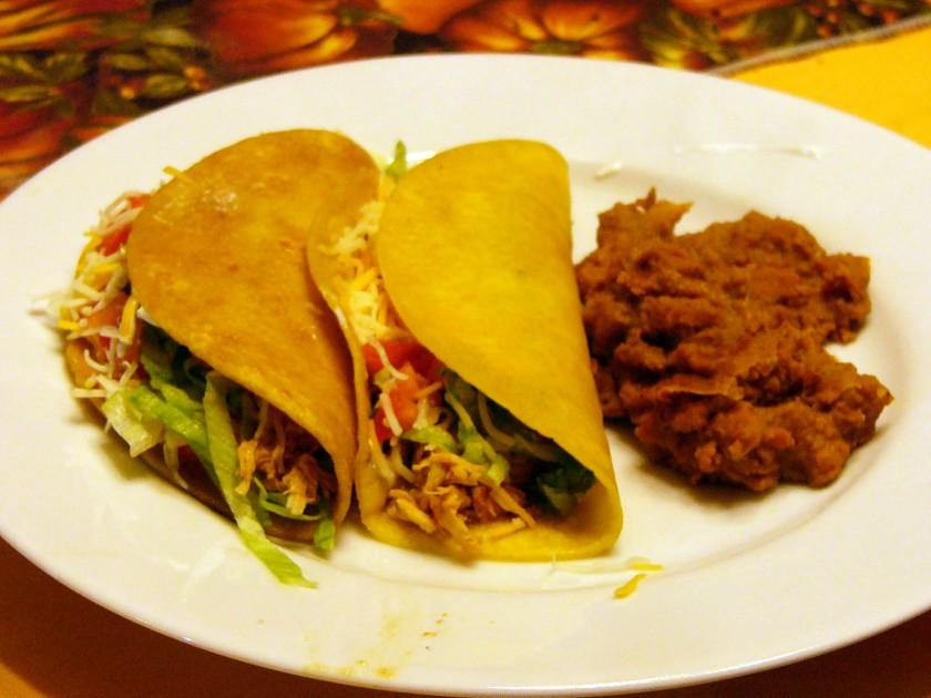 Shredded Chicken Tacos 4