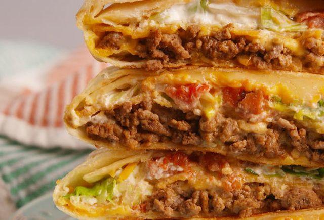 Chorizo Crunch Wrap – Double thePleasure!