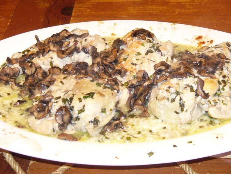 Chicken Breast Tarragon