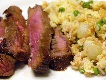 teriyaki-flank-steak-over-vegetable-fried-rice-11