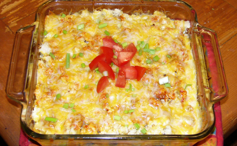 Mexican Style ChickenLasagna