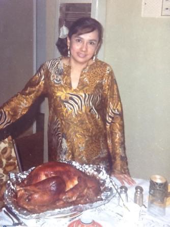 Mom at Thanksgiving