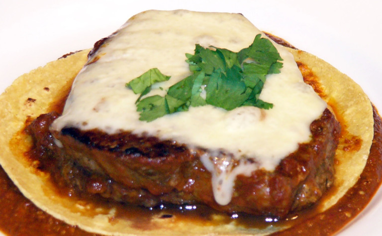 New Mexican Filet Mignon with Sizzling ChipotleSauce