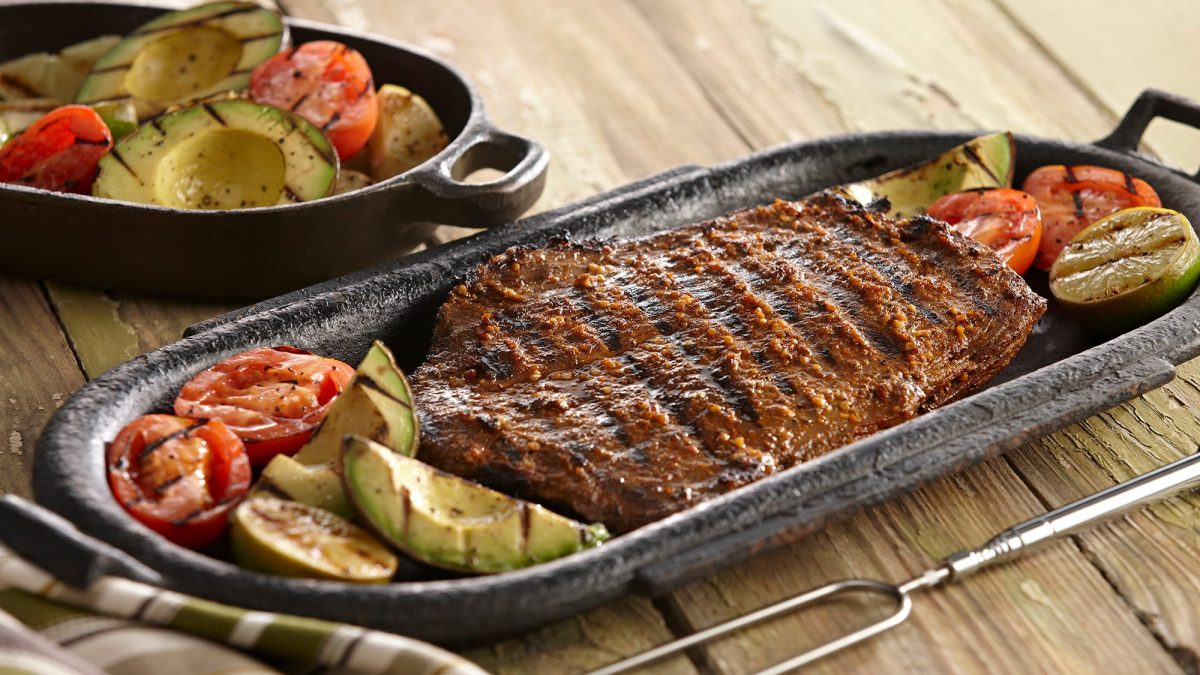 Grilled Tequila Lime Steak
