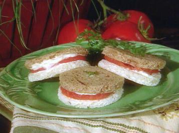 Tomato Sandwich Rounds