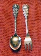 vintage-dessert-spoon-sea-food-fork