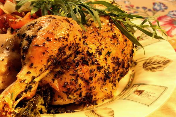 Parsley, Sage, Rosemary and Thyme Roasted Chicken