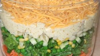English Layer Salad