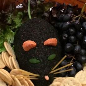 Halloween Dead Man's Cheese ball