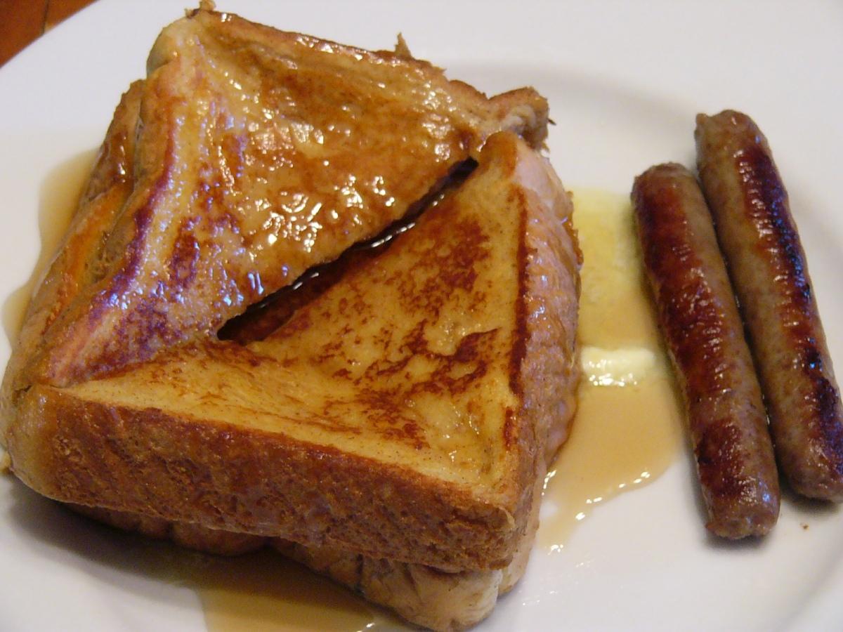Autumn Morning Eggnog FrenchToast