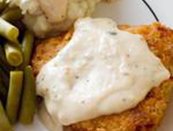 Fried Chicken with CreamyGravy