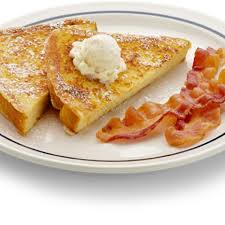 French Toast - With Bacon