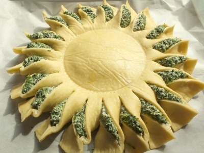 Sunny Spinach Pie (5)