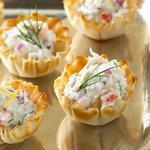 Warm Crab Tartlets
