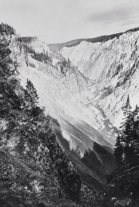 1871 grand canyon of yellowstone
