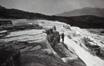 1871 hot springs gardiner river
