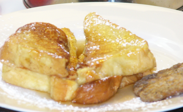 Brioche Tressee French Toast with a Kiss ofOrange