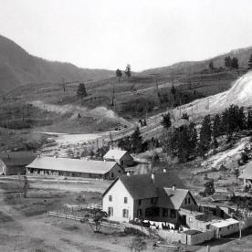 Camp Sheridan (Mammoth); Photographer unknown; Around 1900