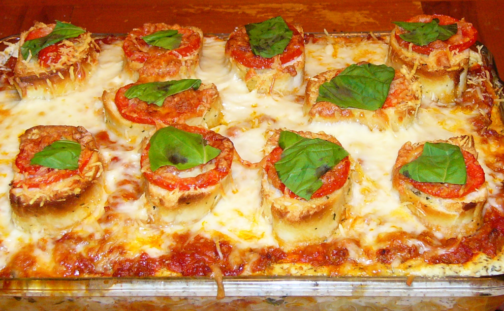 Beautiful Italian Macaroni Bake
