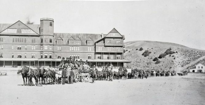 Mammoth Hot Springs 1884