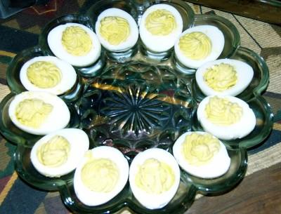 Plain Deviled Eggs