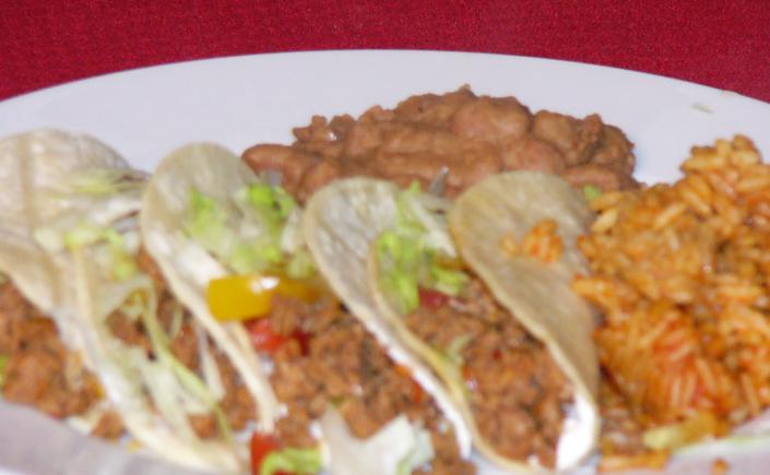 Chorizo-Lime Street Tacos