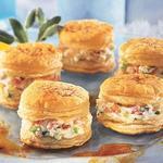 warm crab napoleons